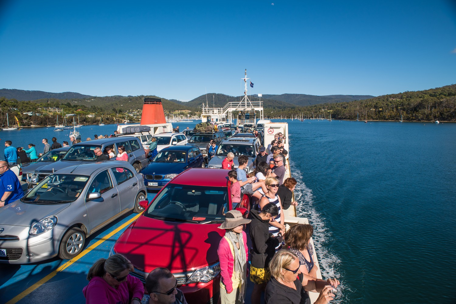 Bruny Island Ferry Images